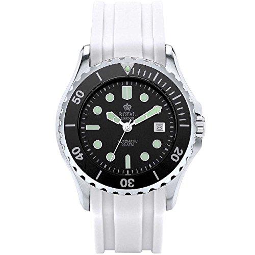 Royal London Hombre Reloj de pulsera Sport 41181–06automático