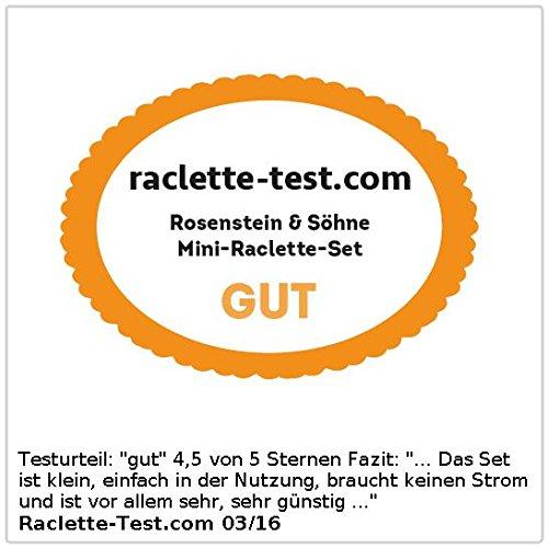 Rosenstein & Söhne Faltbares Teelicht-Raclette