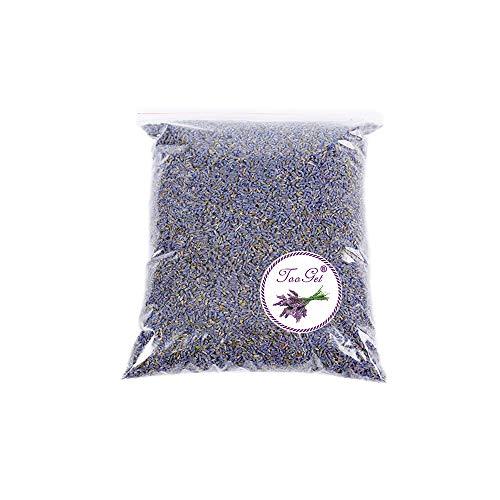 TooGet Duftende Lavendelblüten Getrocknete Lavendel Blüten für Duftkissen Natürlich Lavendelsäckchen Potpourri Duft, Premium Qualität - 225g -
