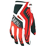 Oneal Reactor Guanti da Motocross, Uomo Donna, Black/Red, L