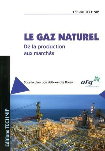 Gaz naturel - de la production aux marchés par Alexandre Rojey