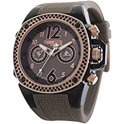 TechnoSport Damen Chrono Uhr - Schwarz / Braun