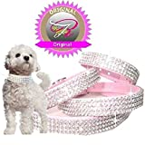 XXS Rosa Chihuahua Strass Halsband Hunde Halsband