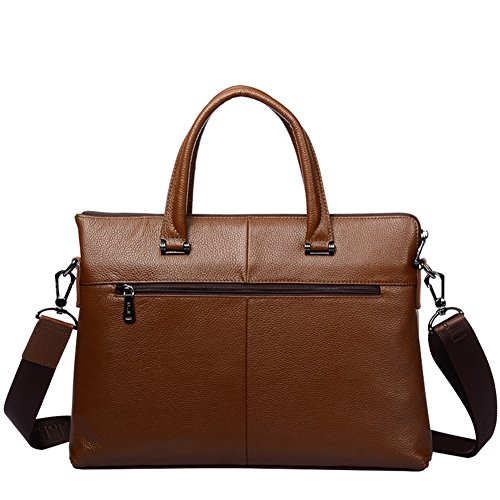 Oblique Croix affaires hommes sac /  horizontal shoulder bag /  laptop Briefcase -A A