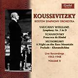 Koussevitzky & Boston Symphony