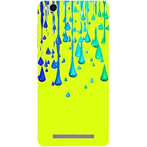 Casotec Neon Paint Design 3D Printed Hard Back Case Cover for Xiaomi Redmi 3S