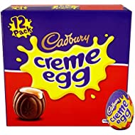 Cadbury Creme Eggs Box (12 Pack)