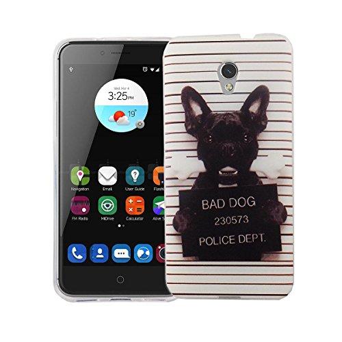 Handy Hülle Cover Case Schutz Tasche Motiv Slim Silikon TPU Bumper Schale Etuis, Motiv:DONT TOUCH MY PHONE BÄR, Für Handy:Apple iPhone 7 (4.7 Zoll) BULLDOGGE