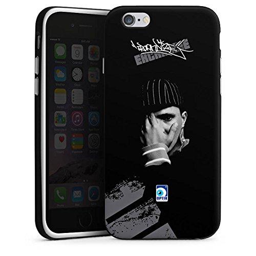 Apple iPhone X Silikon Hülle Case Schutzhülle Kool Savas Fanartikel Merchandise Ercandize Silikon Case schwarz / weiß