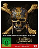 Pirates of the Caribbean: Salazars Rache (2D+3D) - Steelbook Edition [Blu-ray]