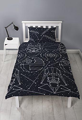 Star Wars Bettbezug, schwarz, 200x 130cm