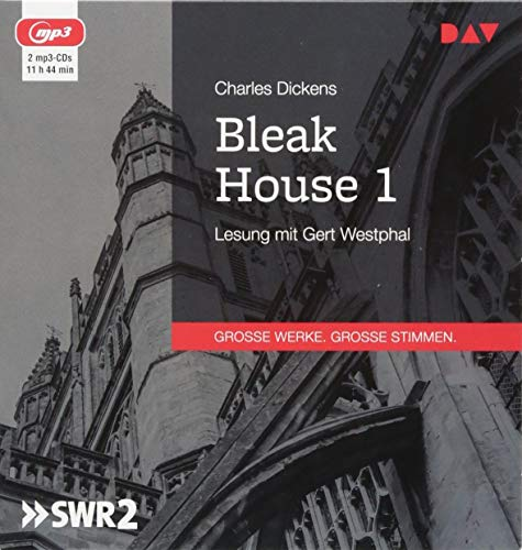 Bleak House 1: Lesung mit Gert Westphal (2 mp3-CDs)