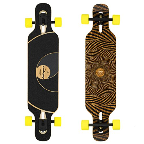Loaded Tan Tien 2012 Flex 3 Complete Longboard Skateboard W/ Paris V2 Trucks, Orangatang Moronga Wheels by Loaded - Trucks Longboard Paris