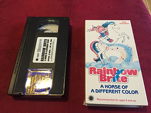 rainbow-brite-horse-of-a-different-color-vhs-import-usa