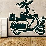 adesivo muro Motocicletta della bici della sporcizia della motocicletta creativa per la corsa di motocicletta della casa dei bambini per il club