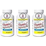 3x IvoryCaps Ivoire Casquettes vitamine C éclaircissant la peau Plus la peau blanchissant pilules Lightening 100%...