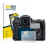 BROTECT für Nikon D500 Schutzfolie [2er Pack] - klare Displayschutzfolie, Crystal-Clear
