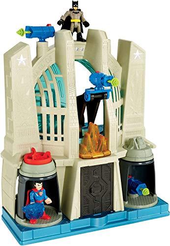 Fisher-Price CHH94 - Imaginext DC Super Friends Halle der Gerechtigkeit, Kleinkind Spielzeug ab 3 Jahren