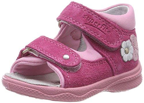 Superfit Polly Baby Mädchen Sandalen, Pink (Pink Kombi 64), 20 EU