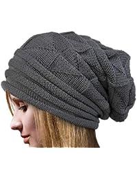 NINGSANJIN Mode Femme Casquette Plate d automne-Hiver   Bonnet Keep Warm en  Laine b568fe3a224