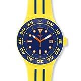 Swatch SUUJ400 - Orologio da polso da uomo colore giallo