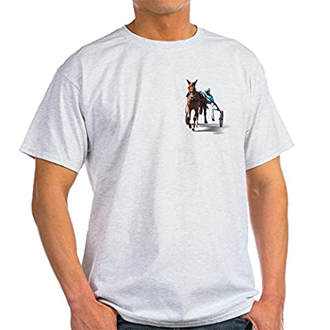 CafePress - Before The Race Ash Grey T-Shirt - 100% Cotton T-Shirt