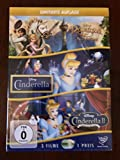 Disney 3er DVD-Box Rapunzel Neu Verföhnt + Cinderella + Cinderella 2
