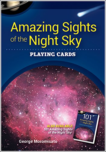 Amazing Sights of the Night Sky Playing Cards (Nature's Wild Cards)