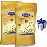 12,5 kg Lyra Pet Dog Adult Light + 12,5 kg Lyra Dog Senior Hundefutter+ Geschenk