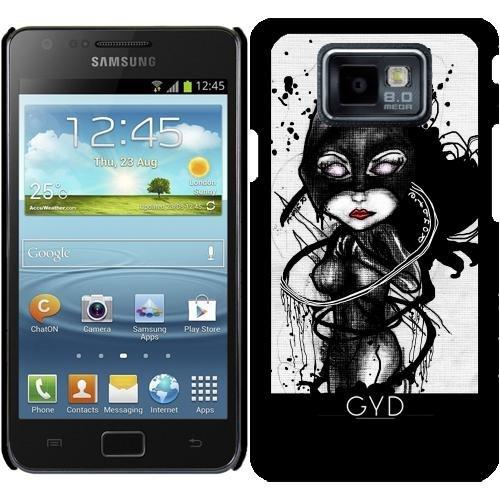 (DesignedByIndependentArtists Hülle für Samsung Galaxy S2 (GT-I9100) - Krallen Lynx by Rouble Rust)