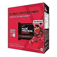 RiteBite Max Protein Ultimate Choco Berry Bars 600g Pack of 6 (100g X 6)