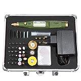 PARAMITA 80pcs Elektrische Rotationsbohrmaschine Grinder Polnische Schleifwerkzeug Fall für DIY Polieren / Beschneiden / Gravieren / Schneiden / Bohren