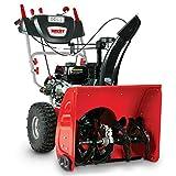 Hecht 9661SE Benzin Schneefräse (E-Start, 4,5 kW/ 6,5 PS, LED-Strahler, Antrieb, 13m Wurfweite)