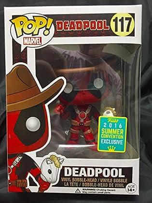 Funko 7493, Pop, 117 - Figura de Vinilo, Deadpo...