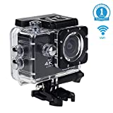 WiFi Sports Action Kamera 4K 1080P Wasserdichte Action Cam