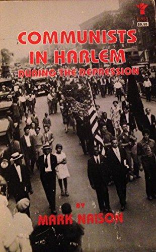 Communists in Harlem during the Depression por Mark Naison