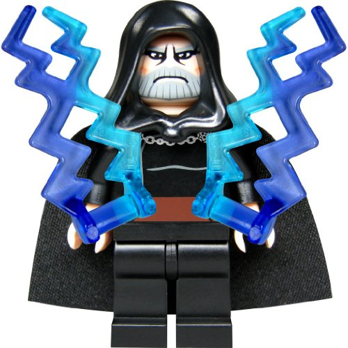 Preisvergleich Produktbild LEGO Star Wars Customfigur Count Dooku (als Sith Lord Darth Tyranus) mit zwei Machtblitzen und Laserschwert