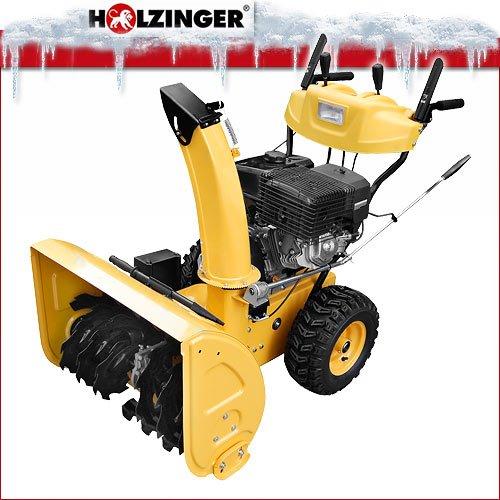 Holzinger Benzin-Schneefräse HSF-110(LE) mit E-Start, Licht und Radantrieb - 2