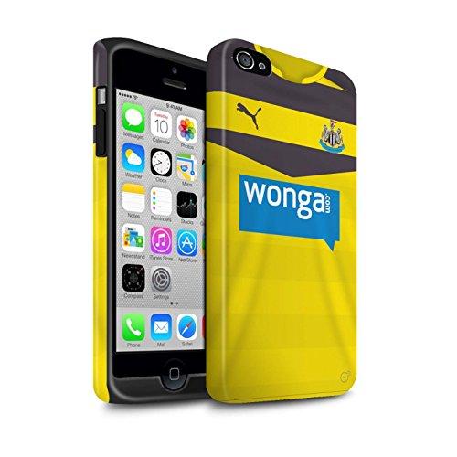 Officiel Newcastle United FC Coque / Matte Robuste Antichoc Etui pour Apple iPhone 4/4S / Pack 29pcs Design / NUFC Maillot Domicile 15/16 Collection Gardien But