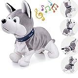 Marsjoy Interactive Puppy Plush Animated Walking Pet Electronic Dog Cute Robot Dog Ba