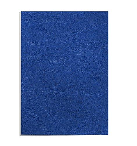 apex-65011-pack-de-100-portadas-cartulina-imitacion-cuero-a4-color-azul