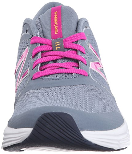 New Balance Wx711 Gym Training Fitness, baskets sportives femme gris (Grey/Pink)