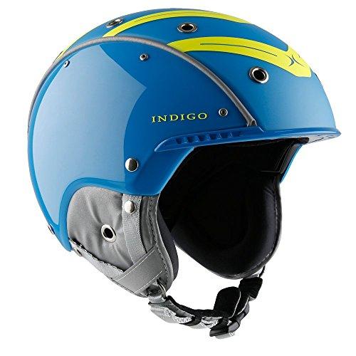 Indigo Helmet Forward   Blau Gelb   Ski & Snowboard   Hochwertige Qualität (Blau Gelb, M   56-58 cm)