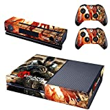 XBox One und Kamera + 2 Controller Aufkleber Schutzfolie Set - Gears of War /X-Box One