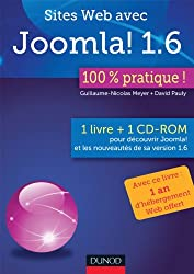 Sites Web avec Joomla ! 1.6 : 100% pratique (livre + cédérom)