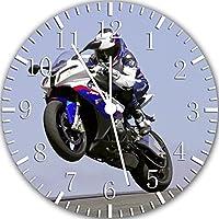 Dekoration Wanduhr Mit Motiv Motorrad Cool Wanduhr Designuhr