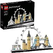 LEGO 21034 Architecture London Arkitektur Byggsats med Big Ben och London Eye, Modellbyggsats, Presentidé