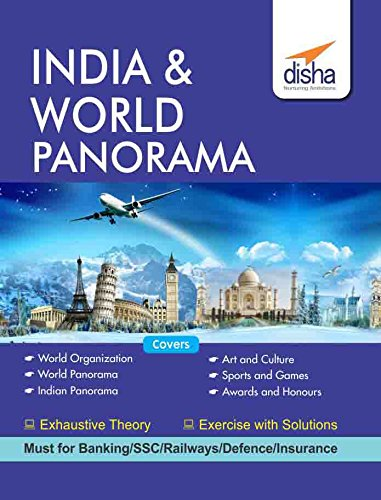 India & World Panorama (General Knowledge) for Competitive Exams – SSC/ Banking/ Railways/ Defense/ Insurance