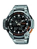 Casio SGW-450HD-1BER - Reloj de pulsera hombre, Acero inoxidable, color Plateado de Casio