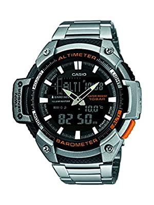 Casio Reloj de cuarzo Man Sports 52 mm